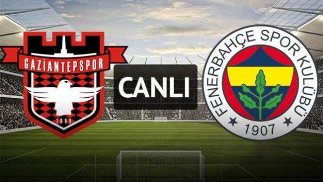 Gaziantepspor - Fenerbahçe Maçı Canlı izle 25.09.2016